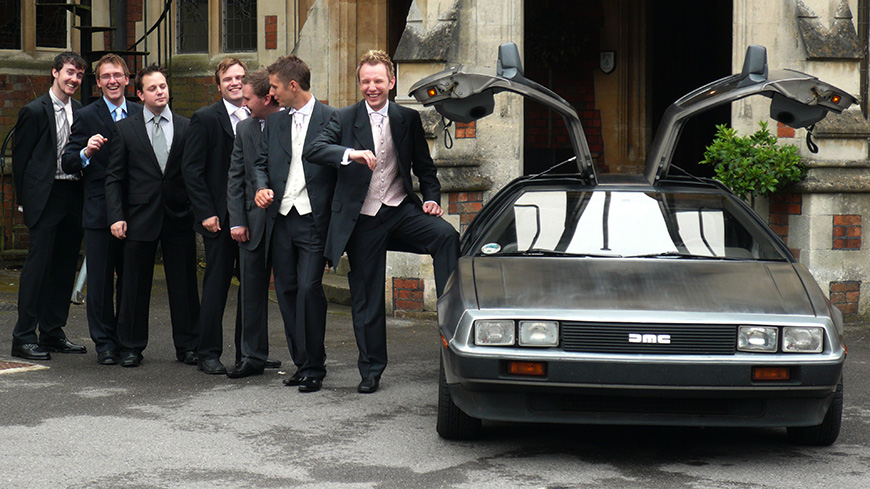 Awesome Wedding Cars for the Groom - Something a little different | CHWV
