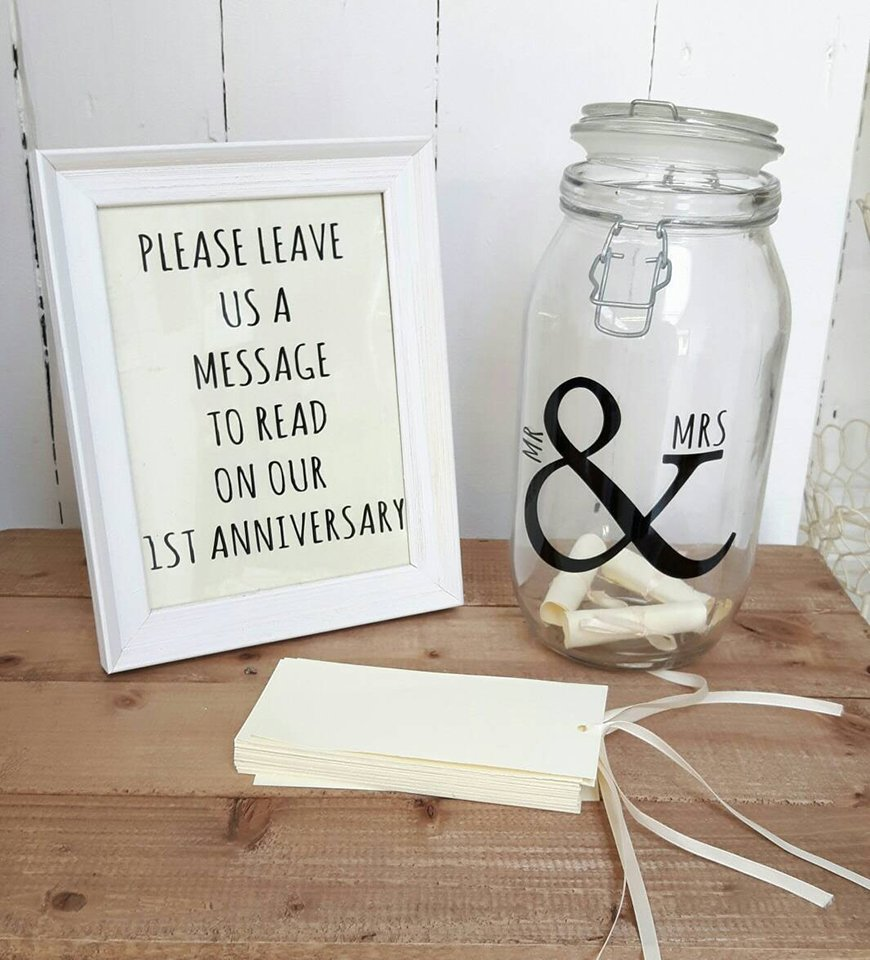 Wedding Message On Gift : message in a bottle is one of the most romantic guest book ideas. It ...