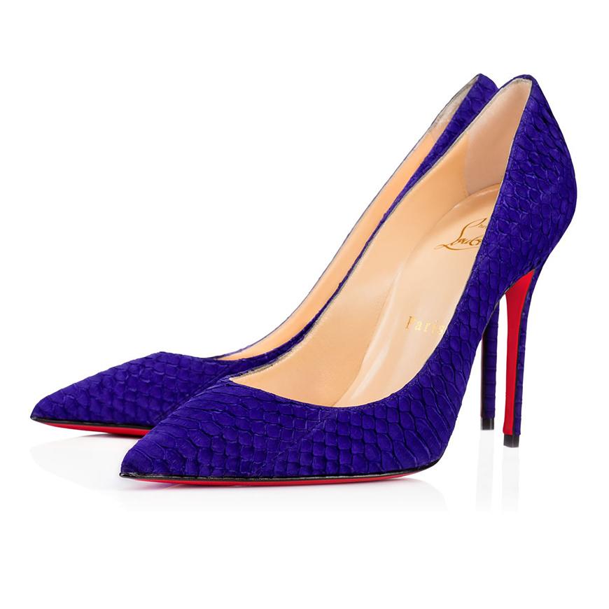 Wedding Ideas by Colour: Purple Wedding Shoes - True style | CHWV