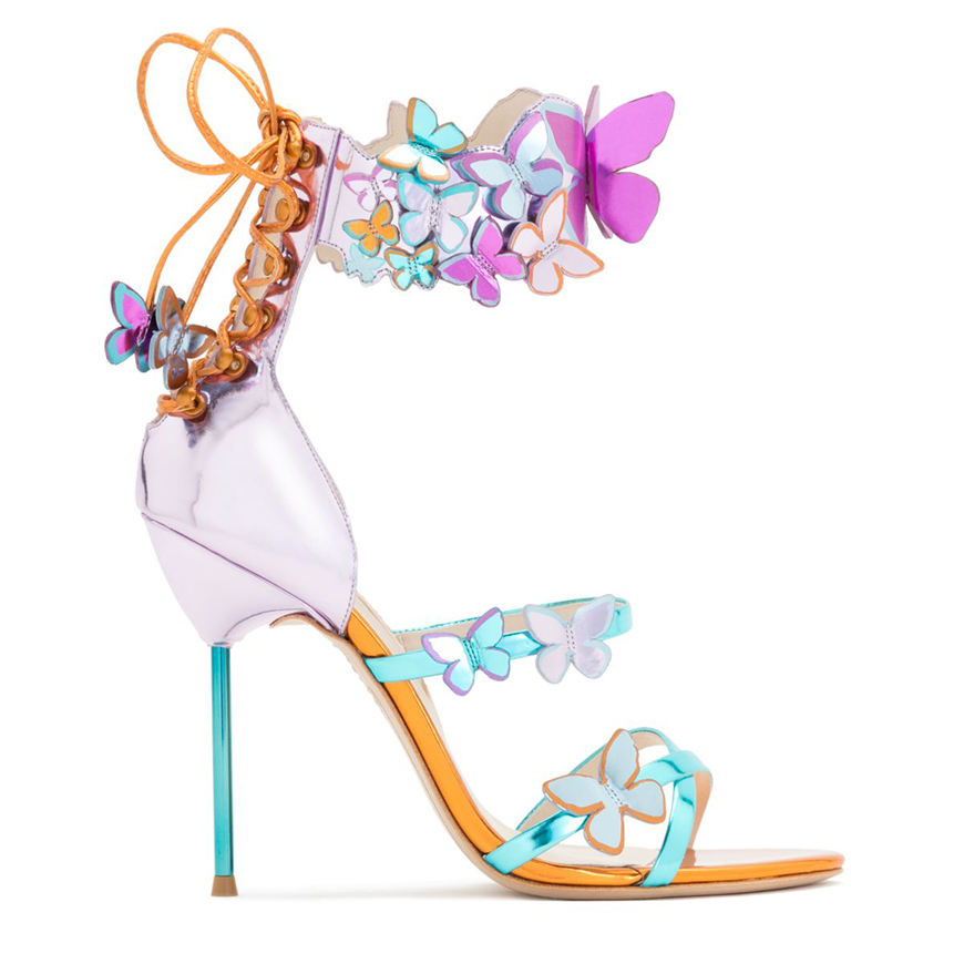 Wedding Ideas by Colour: Purple Wedding Shoes - Butterfly | CHWV