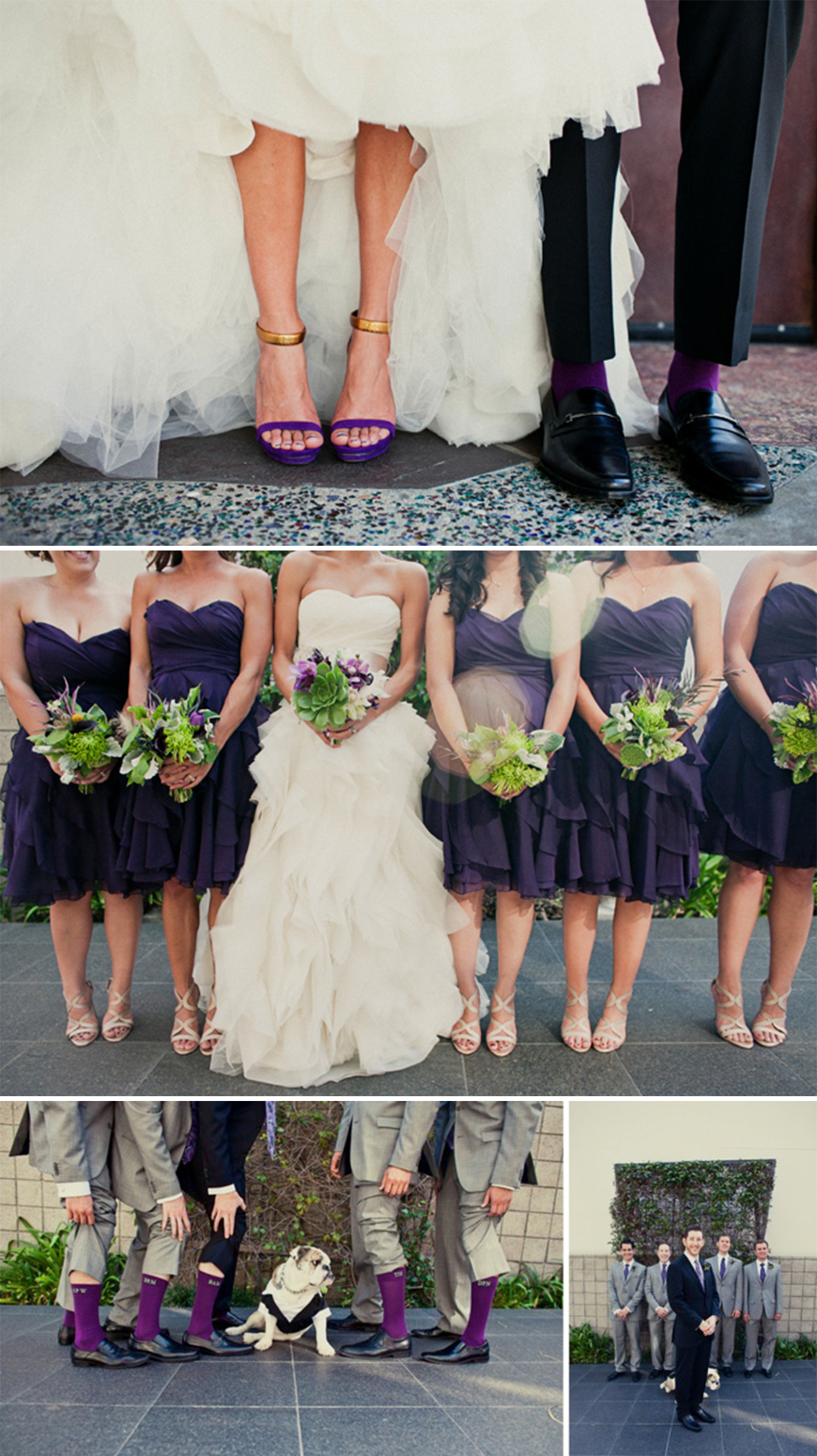 Wedding Ideas by Colour: Purple Wedding Shoes - And finally... | CHWV