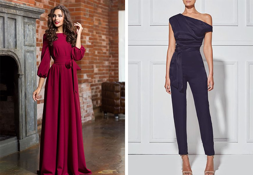 What to Wear to a Winter Wedding: Wedding Guests - Long & luxe | CHWV