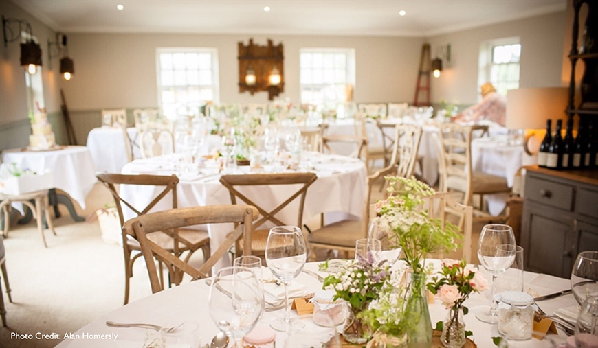 8 Wonderful Wiltshire Wedding Venues - Widbrook Grange | CHWV