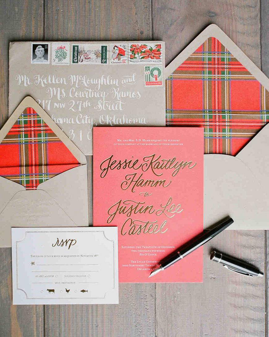 Wonderful Winter Wedding Invitations! - Highland fling | CHWV
