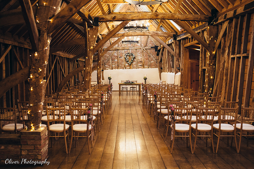 7 Magical Winter Wedding Venues - Bassmead Manor Barns | CHWV