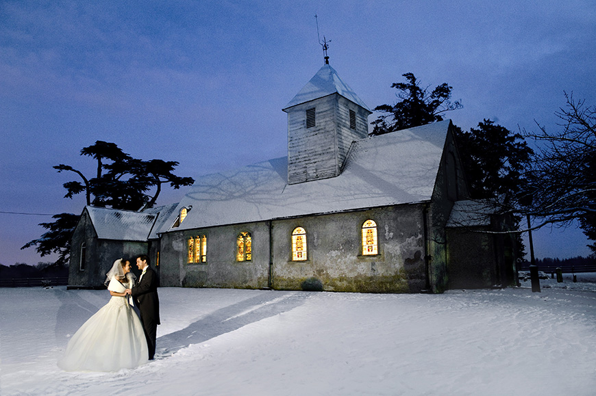 7 Magical Winter Wedding Venues - Wasing Park | CHWV