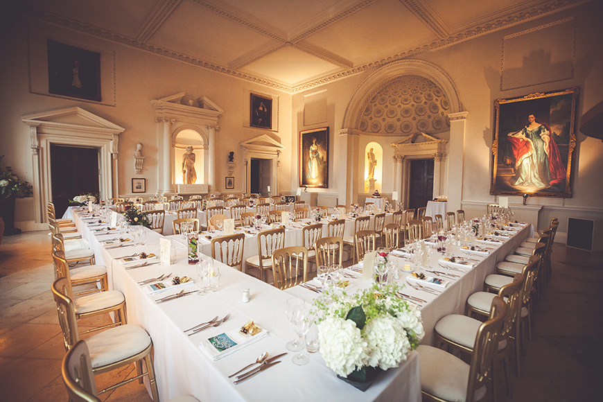 The Perfect Winter Wedding Venues in Oxfordshire - Kirtlington Park | CHWV