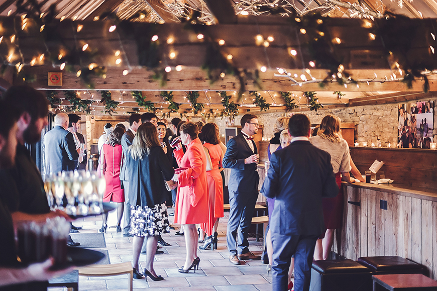 The Perfect Winter Wedding Venues in Oxfordshire - The Tythe Barn | CHWV