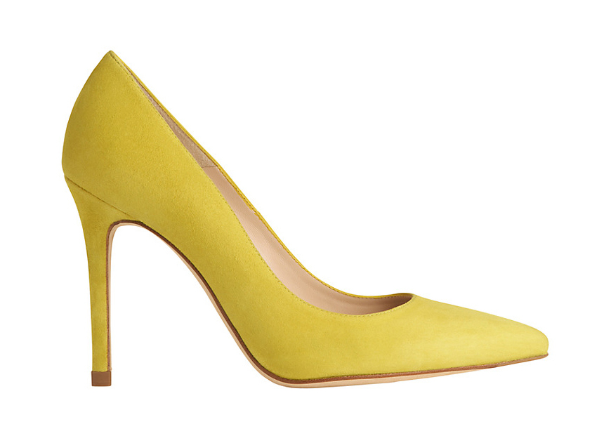 Weddings Ideas by Colour: Yellow Wedding Shoes - Fabulous heels | CHWV