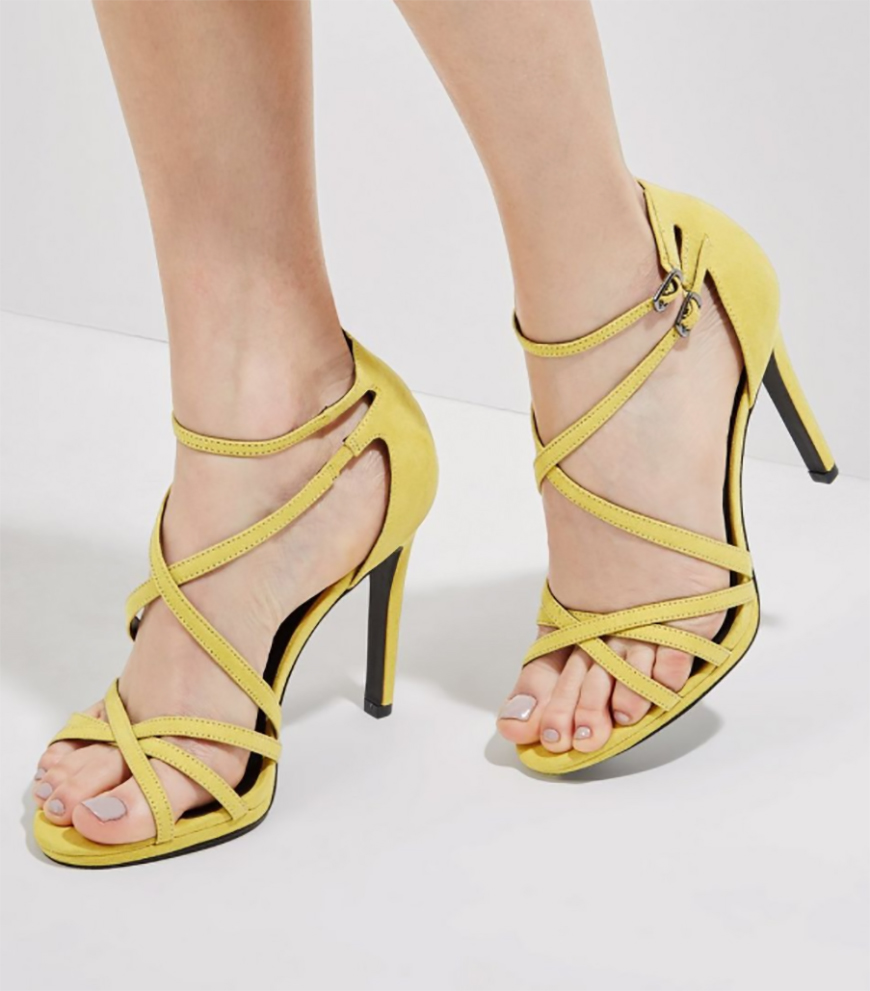 Weddings Ideas by Colour: Yellow Wedding Shoes - A hint of heel | CHWV