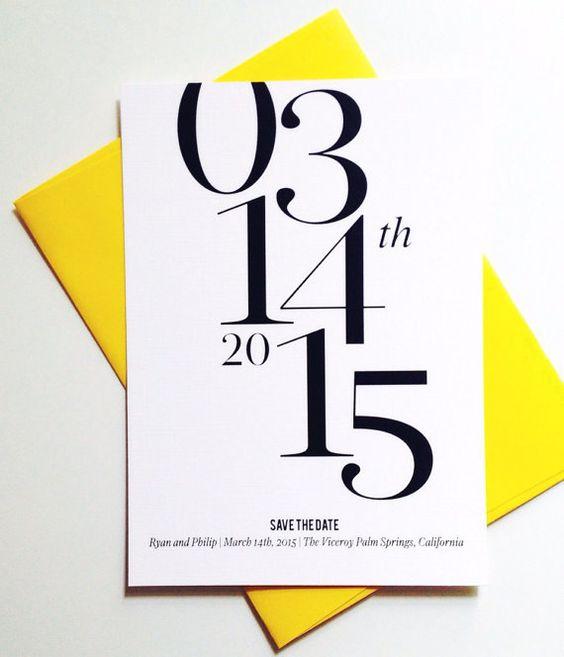 Wedding Ideas by Colour: Yellow Wedding Stationery - Colour burst | CHWV