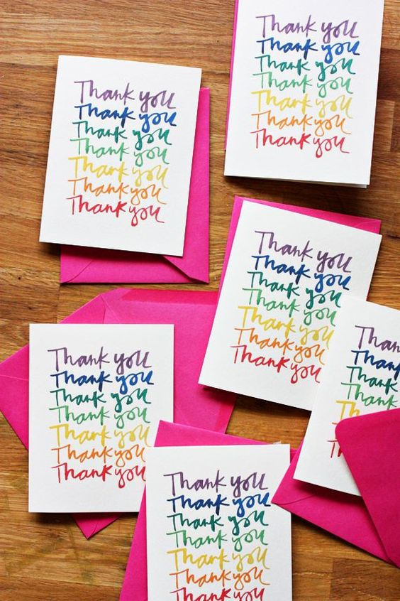 Your Post-Wedding To-Do List - Write your thankyous CHWV
