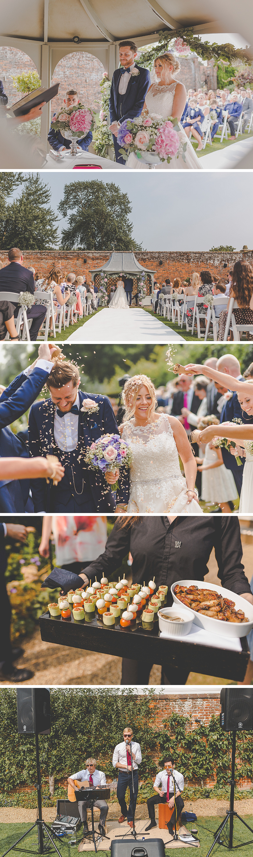 Amber and Alex's Fun-Filled Summer Wedding at Braxted Park  | CHWV
