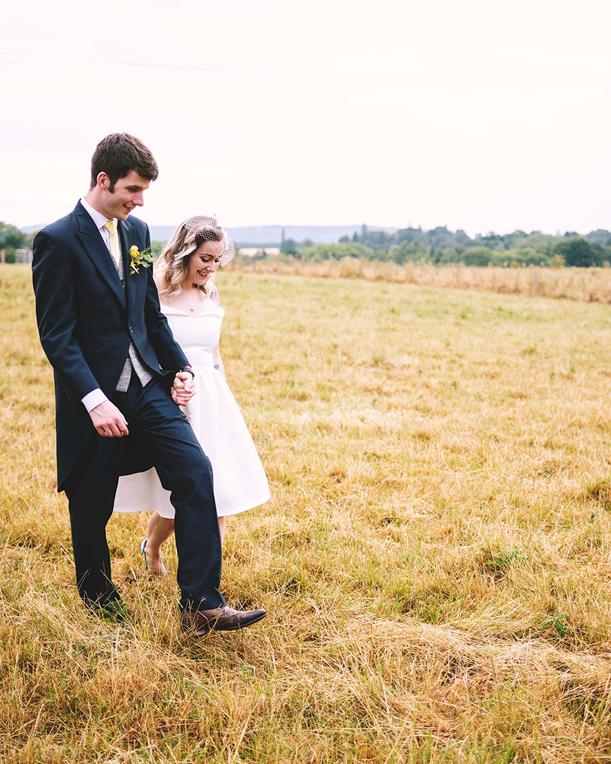 Real Wedding - Alex and Ivan's Colourful Summer Wedding at Curradine Barns | CHWV