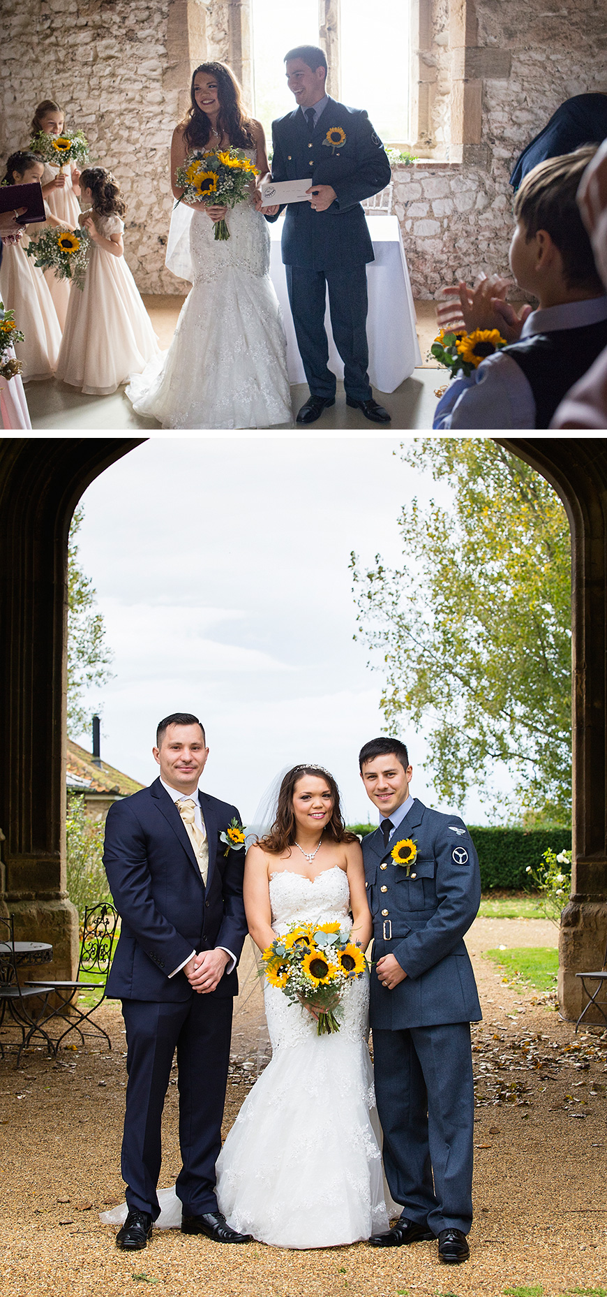 Alexie and Marcus's Medieval Rustic Wedding at Pentney Abbey | CHWV