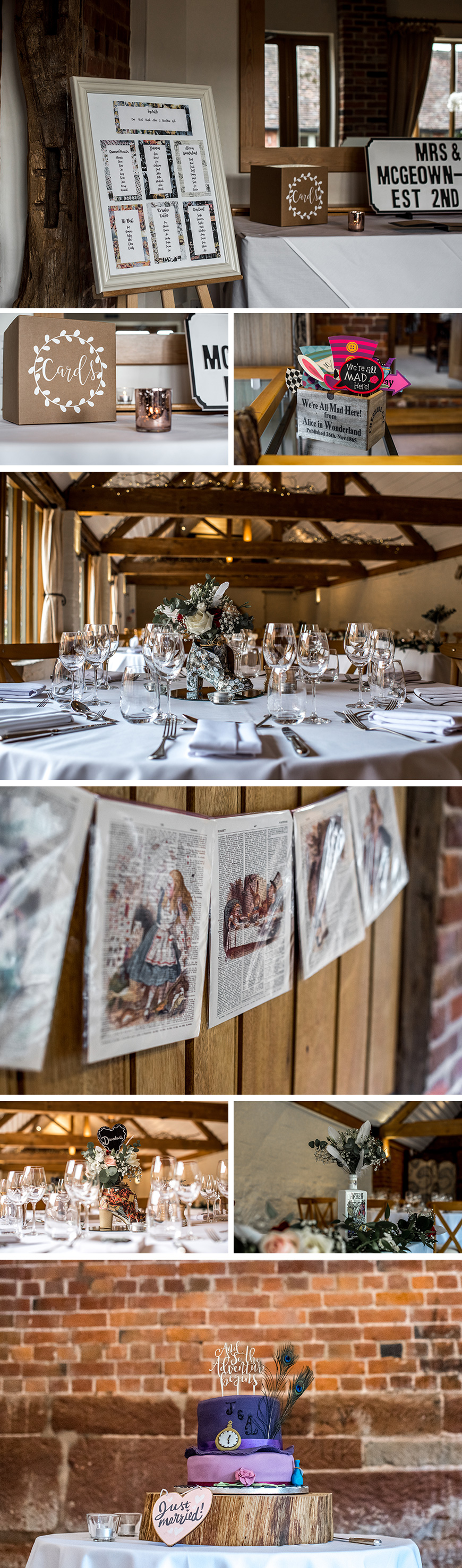 Real Wedding - Alice and J's Handmade Autumn Wedding At Curradine Barns | CHWV