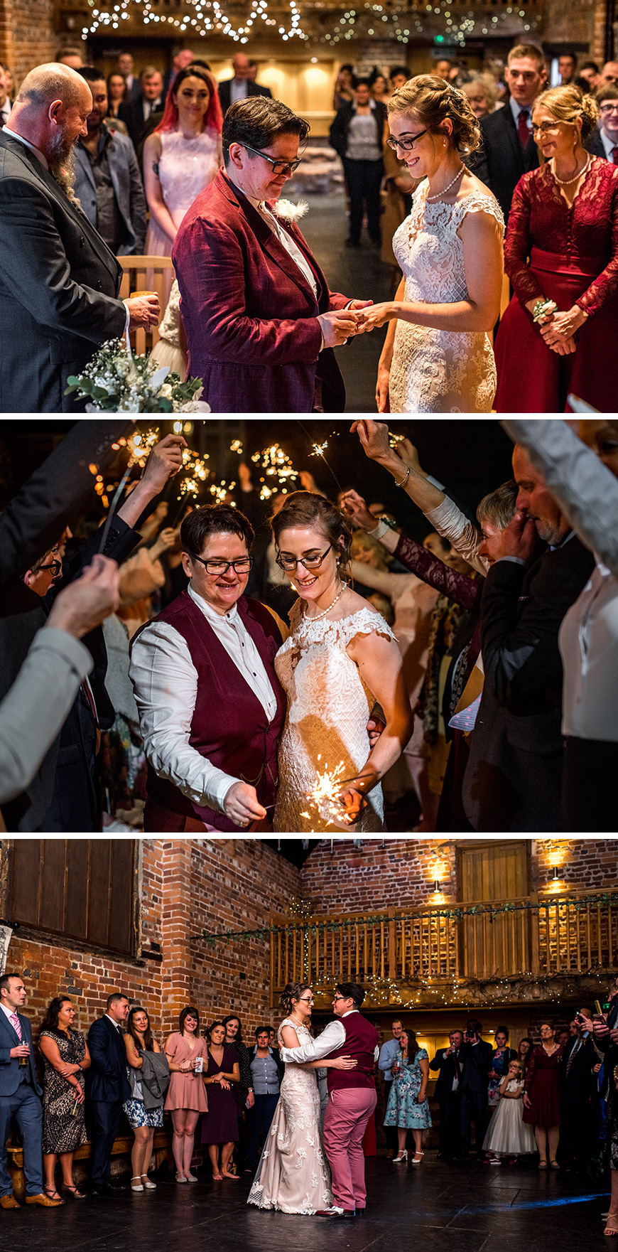 Real Wedding - Alice and J's Handmade Autumn Wedding At Curradine Barns