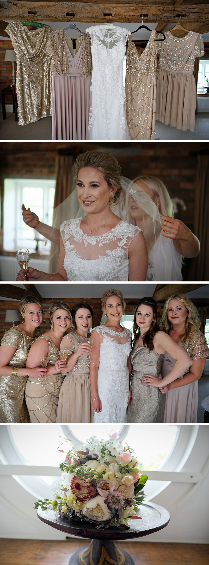 Real Wedding - Alice and Joshua's Elegant Country Wedding at Wasing Park | CHWV