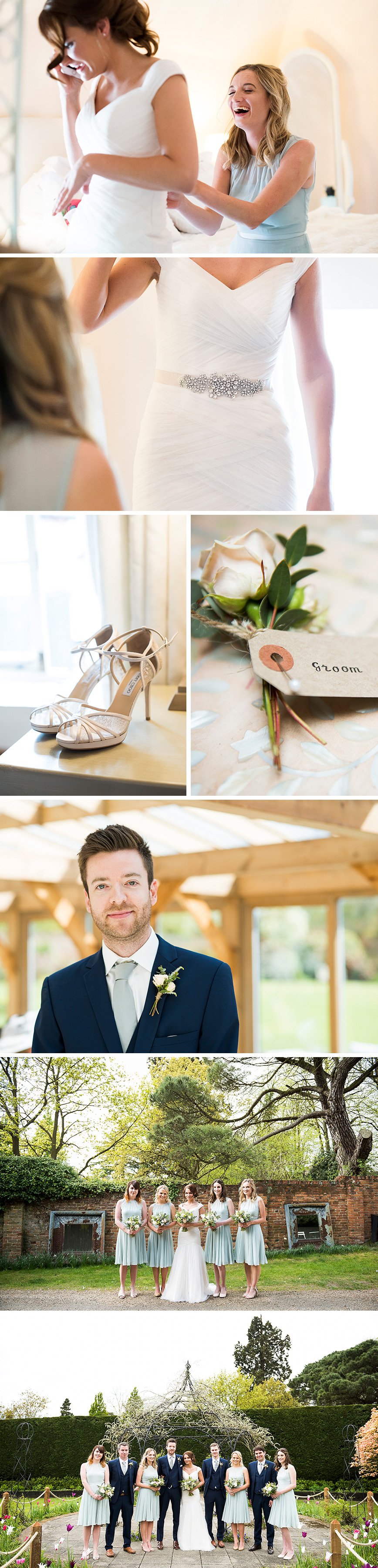 Real Wedding - Amanda and Steve's Exquisite Easter Wedding At Gaynes Park | CHWV