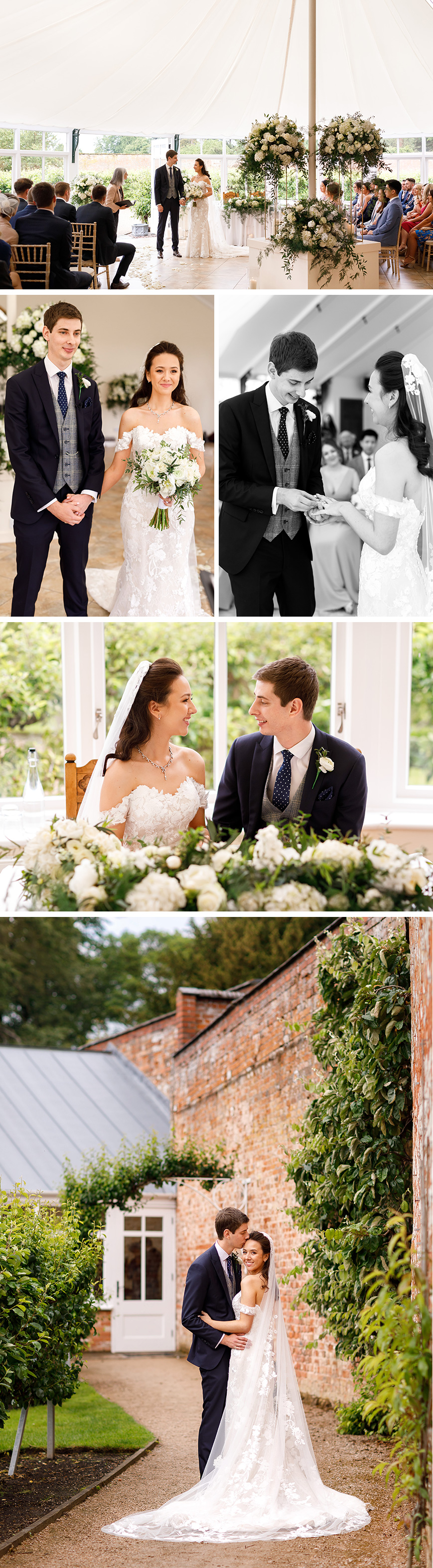Real Wedding - Amy and James' Golden Summer Wedding At Combermere Abbey | CHWV