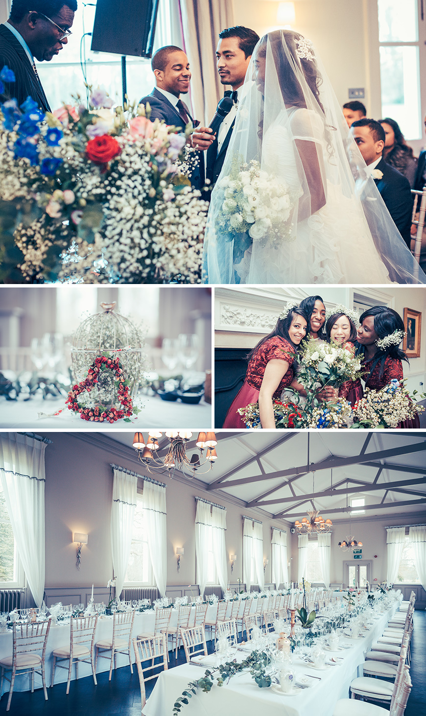 Angela and Praj's Handmade Wedding in London - Flowers | CHWV