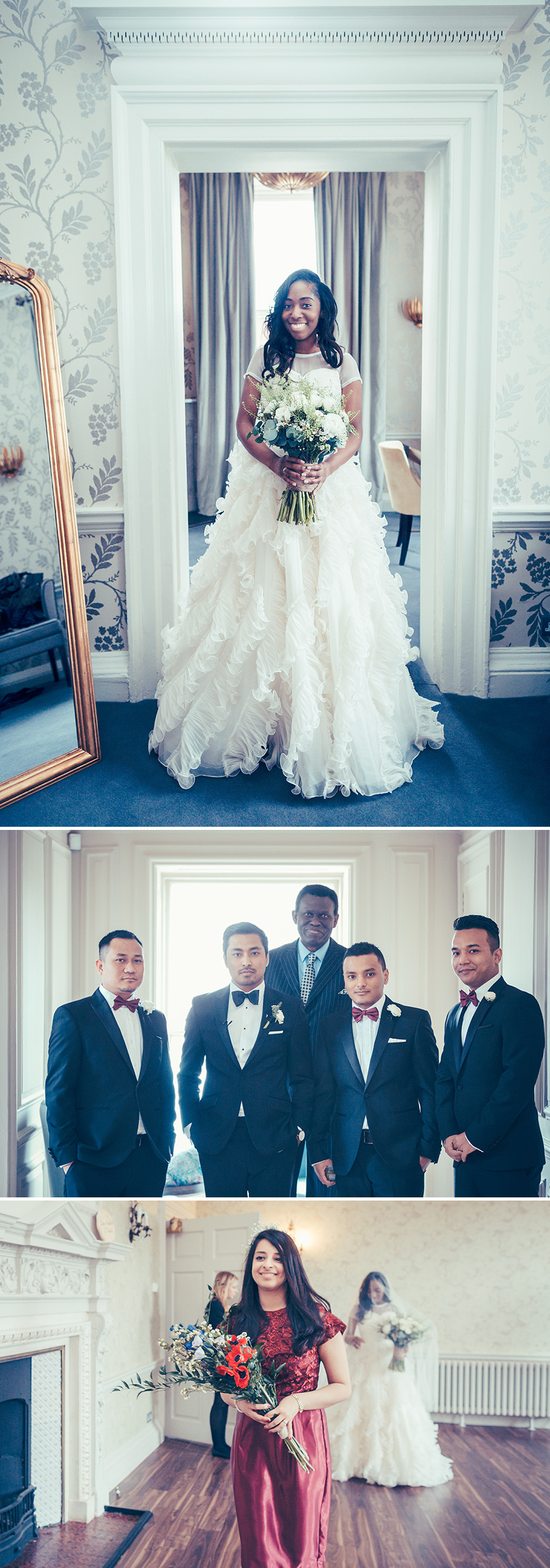 Angela and Praj's Handmade Wedding in London - Outfits | CHWV