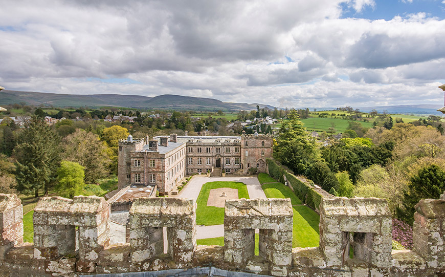 7 Quirky Wedding Venues That You Have To See - Appleby Castle | CHWV