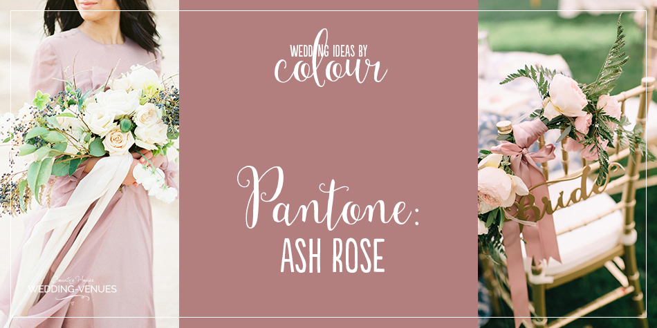 We have to admit it – we're in love. Pantone Ash Rose is one of our new favourite wedding colours. This beautiful, romantic and super feminine shade is absolutely perfect for weddings at any time of year and it works well in venues of every kind. We've rounded up lots of pretty Ash Rose wedding ideas for you right here so prepare to Pin!