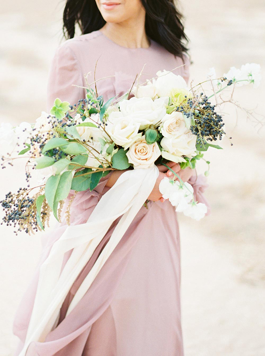 Wedding Ideas By Pantone Colour: Ash Rose - Wedding day look | CHWV