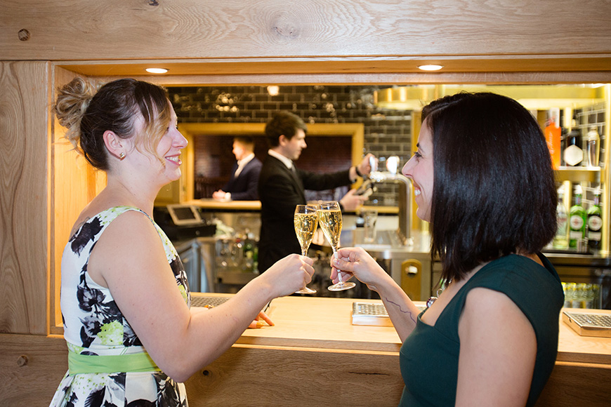 Exciting New Features At Curradine Barns - New wedding bar | CHWV