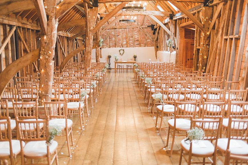 8 Magical Minimalist Wedding Venues - Bassmead Manor Barns | CHWV