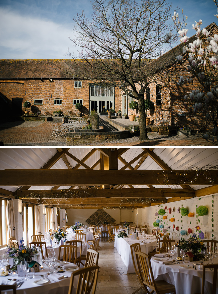 Real Wedding - Becky and Jonathan's Romantic Rustic Wedding At Curradine Barns | CHWV