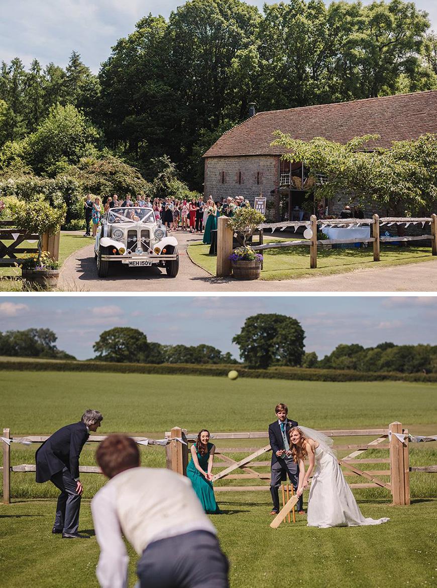 Real Wedding - Becky and Peter's Rustic Summer Wedding At Bartholomew Barns | CHWV