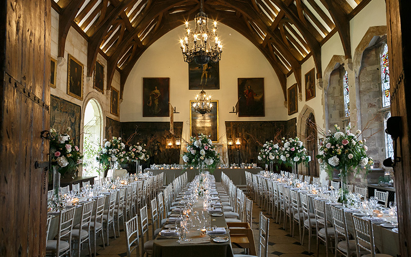 Medieval Castle Wedding Venue in Gloucestershire ...