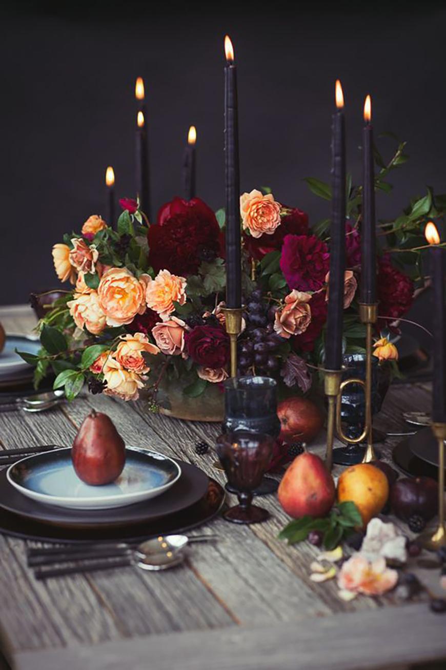 The Best Autumnal Wedding Colours - Orange wedding ideas | CHWV