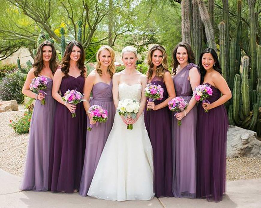 The Best Autumnal Wedding Colours - Purple wedding ideas | CHWV