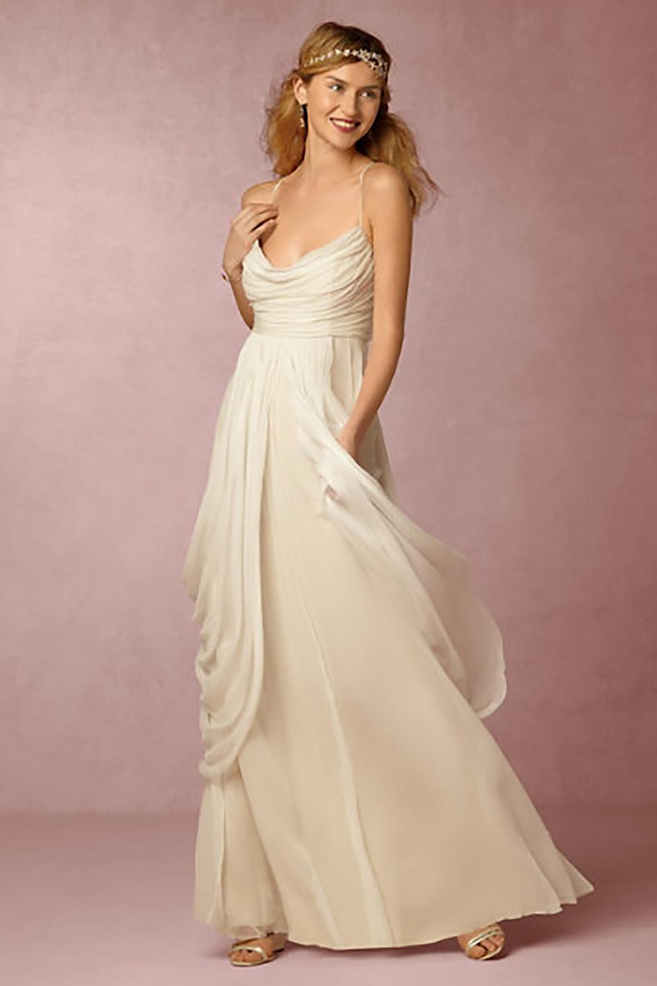 The best bohemian wedding dresses - BHLDN | CHWV