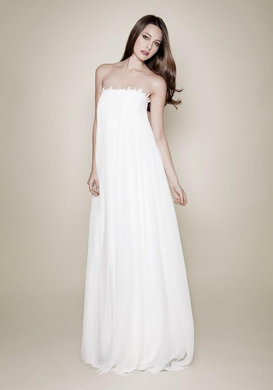 The best bohemian wedding dresses - Costarellos | CHWV