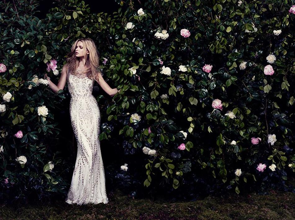 The best bohemian wedding dresses - Hermia | CHWV