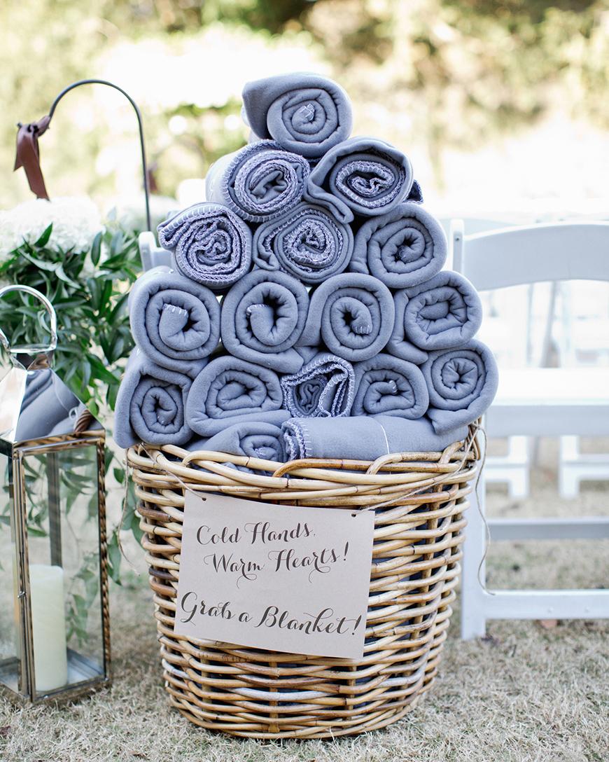 The Best Winter Wedding Ideas - Blankets | CHWV