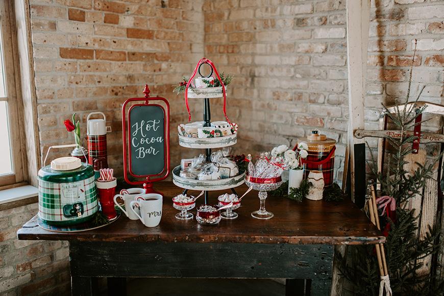 The Best Winter Wedding Ideas - Hot chocolate | CHWV