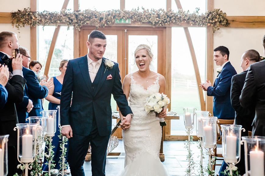 The Best Winter Wedding Venues - Mythe Barn | CHWV