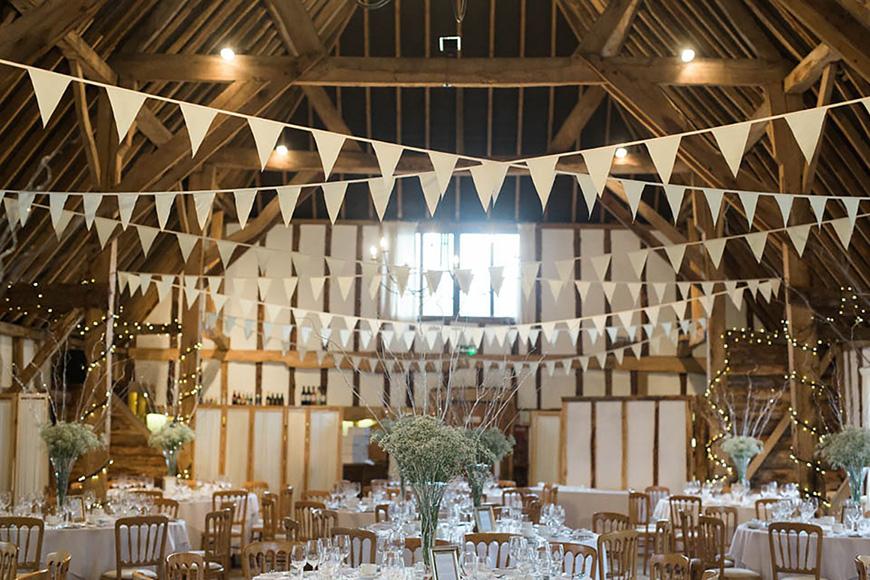The Best Winter Wedding Venues - Clock Barn | CHWV