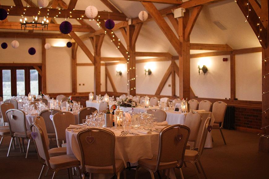 The Best Winter Wedding Venues - Sandhole Oak Barn | CHWV