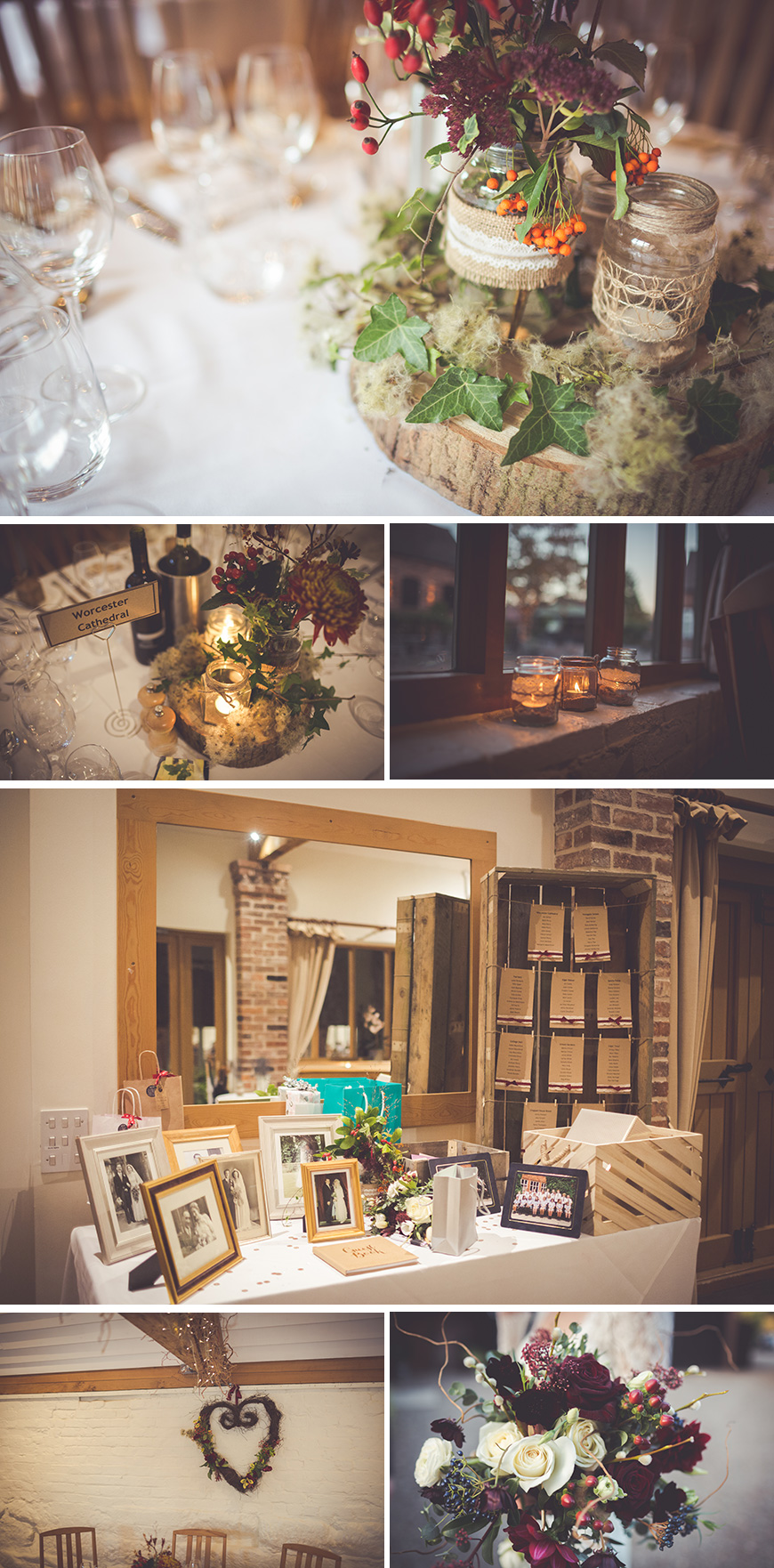Real Wedding - Beth and Joe's Wintry Rustic Wedding At Curradine Barns | CHWV