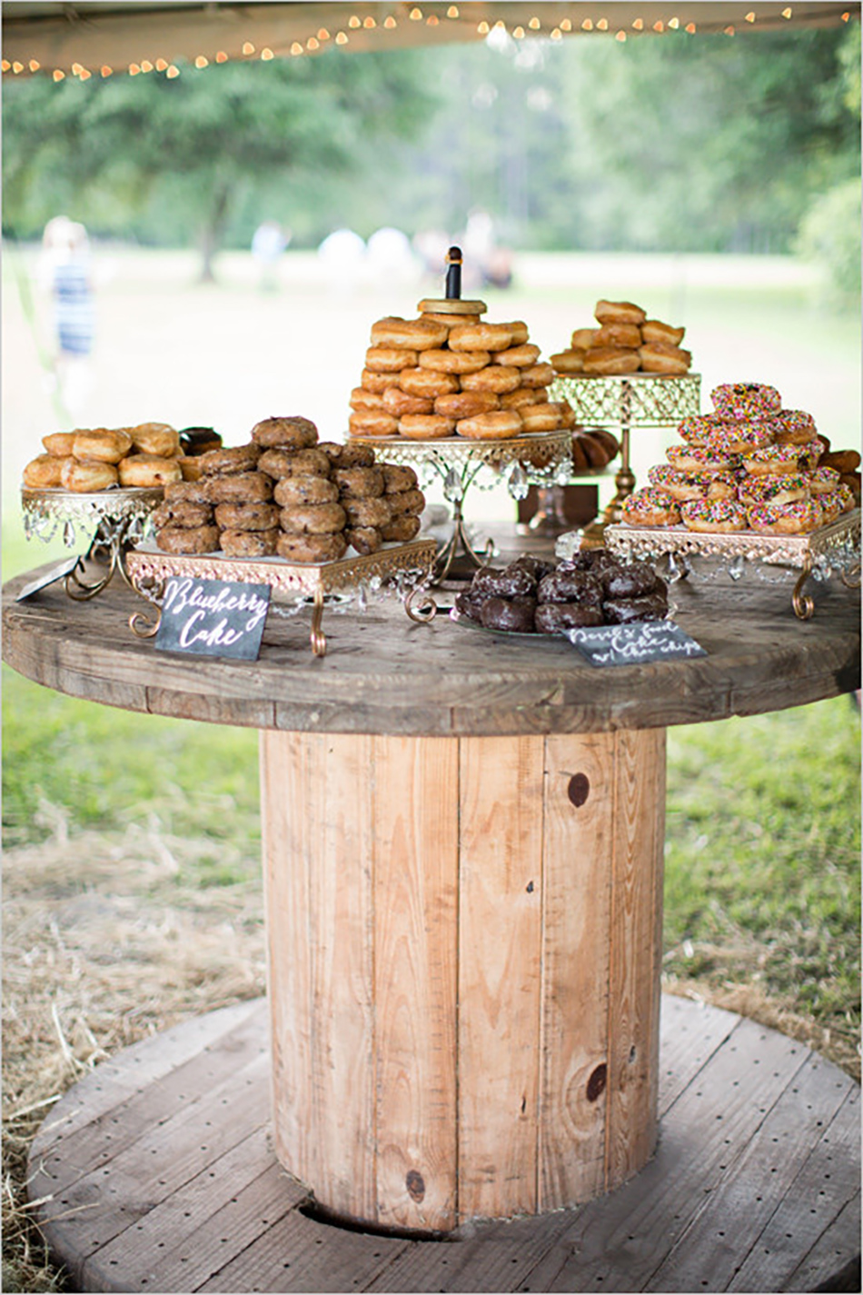 Bling up your barn wedding venue with Crystal Wedding Cake Stands