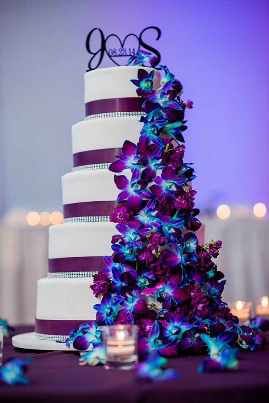 wedding ideas with purple theme blue and purple colour scheme wedding ideas by colour chwv 28363