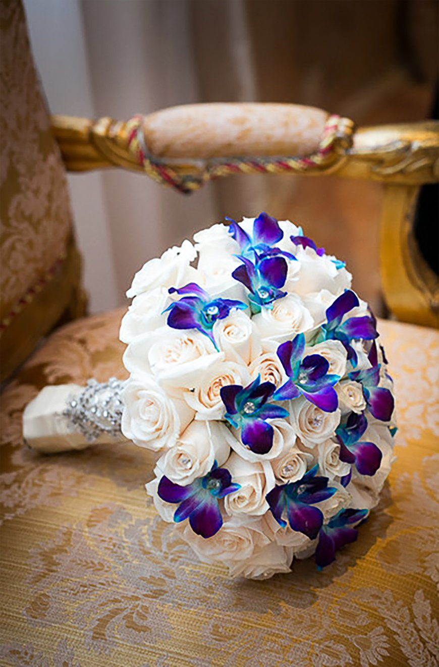 Blue and Purple Colour Scheme | Wedding Ideas by Colour | CHWV