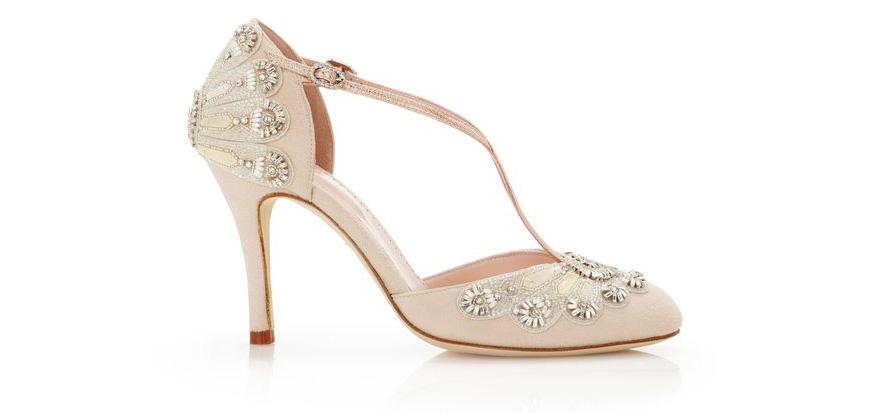 9065a6a08d95 Wedding Ideas By Colour  Blush Wedding Shoes
