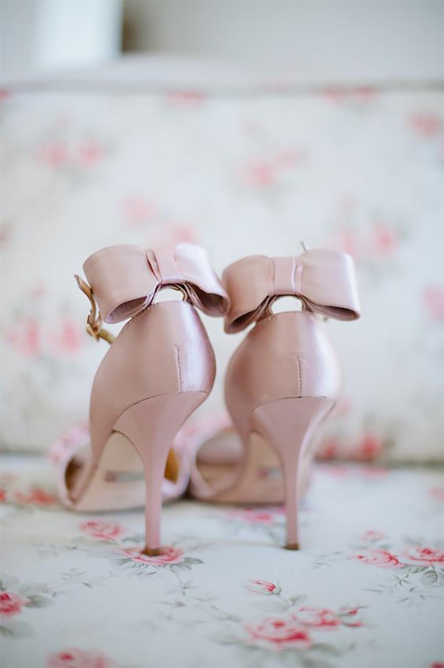 Wedding Ideas By Colour: Blush Wedding Shoes | CHWV